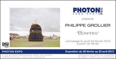 Expo Philippe Grollier : Bonfires